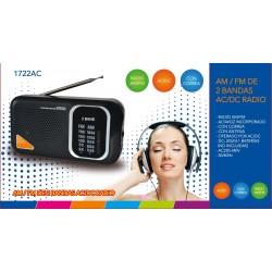 Radio portatil 1722AC