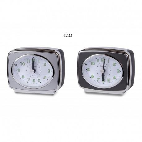 Despertador Silencioso Con Luz Timemark CL22