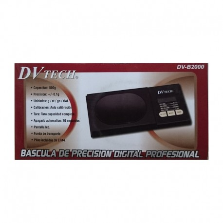Bascula digital de bolsillo DVTech DV-B2000