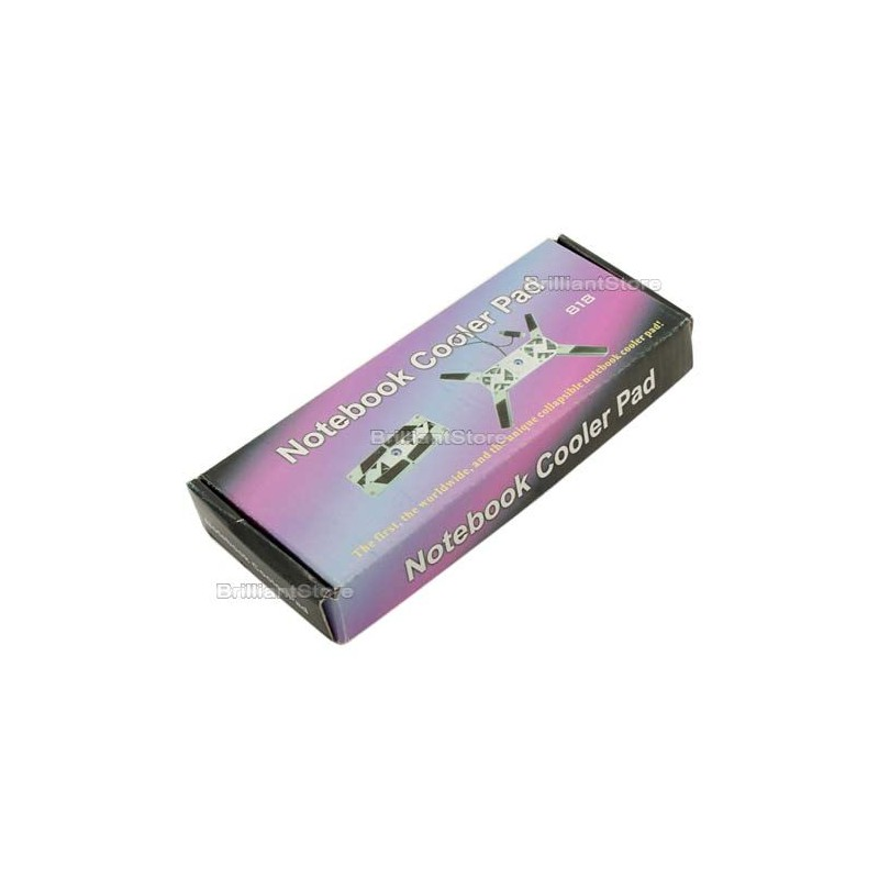 Ventilador para portatil plegable super mini silencioso - Ventilador bajo consumo ...