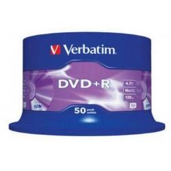 DVD+R Bobina - Verbatim VB-DPR47S3A, 50 unidades
