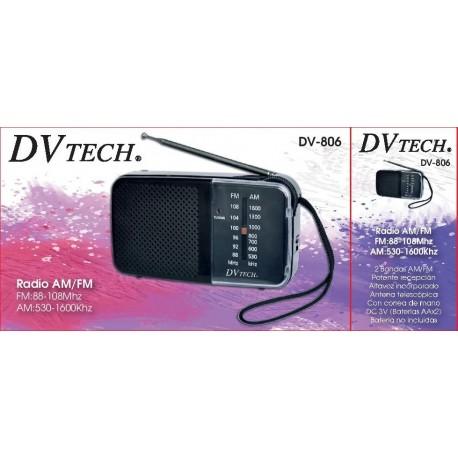 radio dvtech dv-806