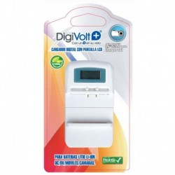 Cargador Universal Digivolt DG-5 Cargador Digital Baterias