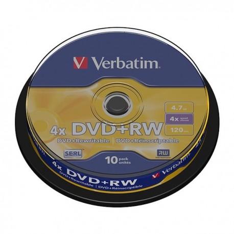 dvd verbatim regrabable +rw