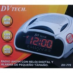 DV775 RADIO/RELOJ DVTECH