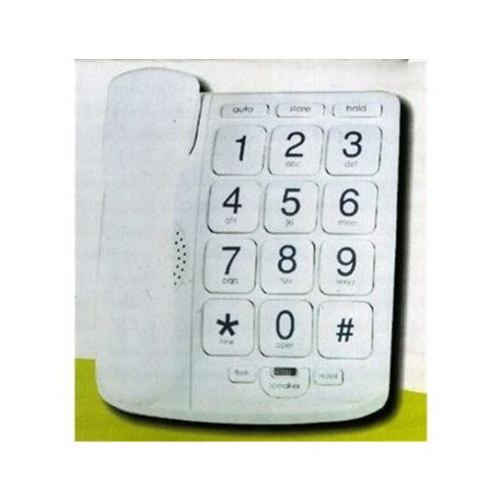 Dvtech Teléfono Tecla Grande DV-222
