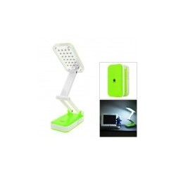 DP-666 LED iPhone estilo plegable 2W 120lm 6000K 24 SMD Lámpara de mesa LED de luz blanca -