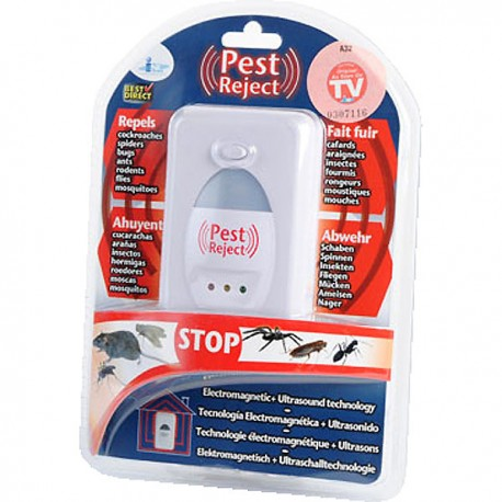 Pest reject auyenta bichos y roedores
