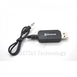 Usb bluetooth music adaptador del receptor de audio de 3.5mm