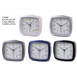 CL263 DESPERTADOR SILENCIOSO TIMEMARK