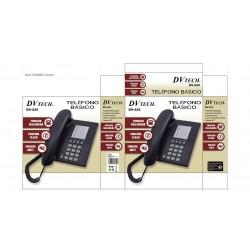 telefono sobremesa dv  tech dv-225