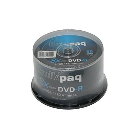 25 unidades marca Bulkpaq discos DVD-R en blanco