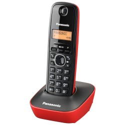 Teléfono panasonic KXTG1611 (ROJO)