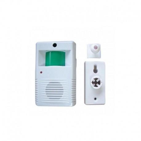 Detector de presencia AVISADOR con sonido barato