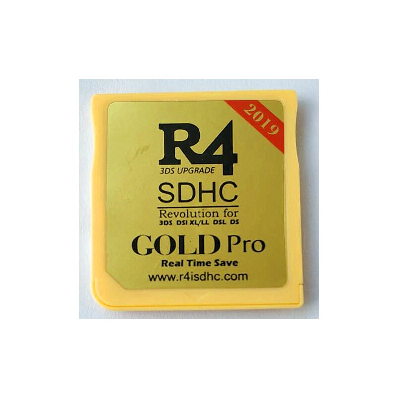 R4 3ds Gold