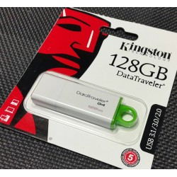 Kingston DTIG4/128GB Memoria Usb, 128 Gb, Verde / Blanco