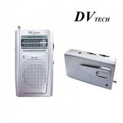 Radio Portátil de Bosillo Clip Cinturón DVTECH DV-742