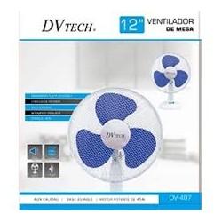 "Dvtech Ventilador Sobre Mesa 12"" 30cm 45w DV-407"