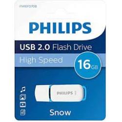 Philips Pendrive USB 2.0 16GB Snow