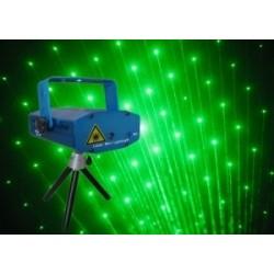 Luz del disco de DJ Mini Proyector láser Efecto