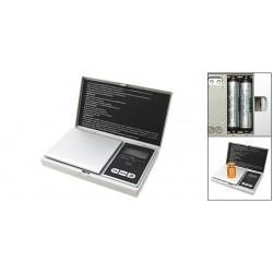 Silver Profesional Mini Digital LCD 500 Grame Báscula