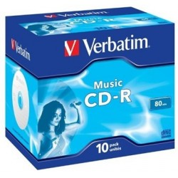 cd audio verbatim 80 minutos