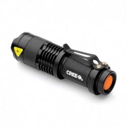Mini LED antorcha 7W 400LM linterna del CREE Q5 LED del foco aju