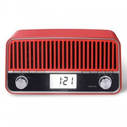 Radio Retro Digital Bluetooth RPRBT3500 Roja