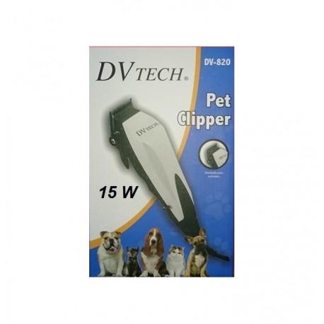Cortapelos electrico para mascotas DVTech DV-820