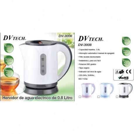Hervidor de agua DVTech DV-3008