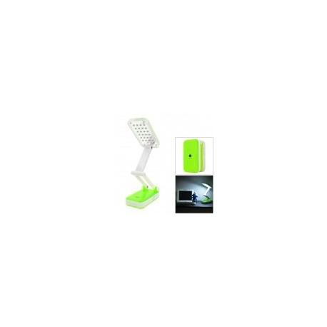DP-666 LED iPhone estilo plegable 2W 120lm 6000K 24 SMD Lámpara de mesa LED de luz blanca -