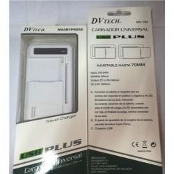 DV Tech Cargador Batería Ajustable 70mm DV107