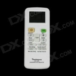 """KT-3000 universal 1.625 """"control remoto de pantalla para el acondicionador de aire - blanco (2 x AAA)"""