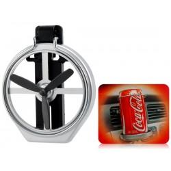 SD-1005 Copa plegable del sostenedor del coche sostenedor de la bebida Monte titular de la botella para Beverage Holder (Negro)