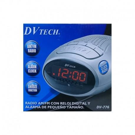 Radio Reloj/Despertador DVTech DV-776