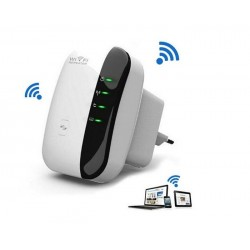 Wireless-n AP Wifi del repetidor 802.11b / g / n red Router Expander antena extendido señal Booser repetidores 300 Mbps